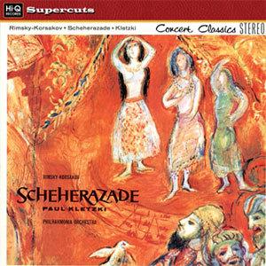 Rimsky Korsakov - Scheherazade : Paul Kletzki : Philharmonia Orchestra - 180g LP