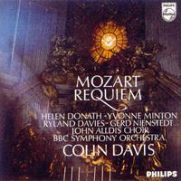 Mozart - Requiem Mass in D Minor K.626 - Sir Colin Davis : BBC Symphony Orchestra - 180g LP