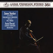 Dvorak / Bruch - Janos Starker :  Cello Concerto in B Minor : Antal Dorati : LSO  - 180g LP