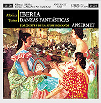Albeniz Iberia - Turina : Danzas Fantasticas Ansermet - 180g LP
