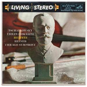 Tchaikovsky - Violin Concerto Concerto In D, Op. 35 : Heifetz : Reiner : Chicago Symphony- 200g LP