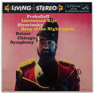 Prokofiev -  Lieutenant Kije / Stravinsky - Song Of The Nightingale: Fritz Reiner : CSO  - 200g LP