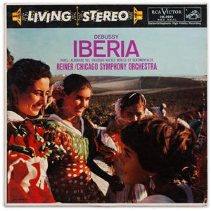 Debussy / Ravel - Fritz Reiner : Iberia : Chicago Symphony Orchestra - 200g LP