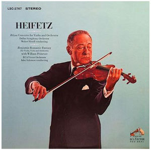 Rozsa / Benjamin - Concerto For Violin And Orchestra : Jascha Heifetz : Romantic Fantasy - 200g LP