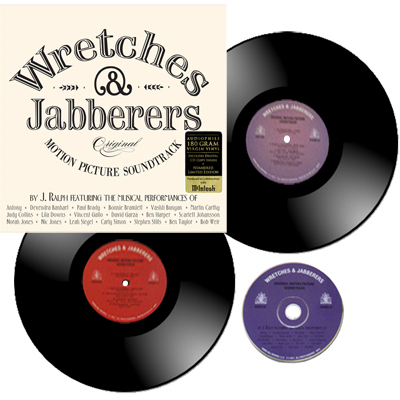 Wretches & Jabberers - J Ralph - OST Soundtrack 180g 2LP + CD