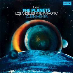 Holst - The Planets : Zubin Mehta  : Los Angeles Philharmonic - 180g LP