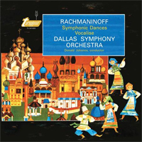 Rachmaninoff -  Symphonic Dances Vocalise: Donald Johanos : Dallas Symphony -  45rpm 200g 2LP