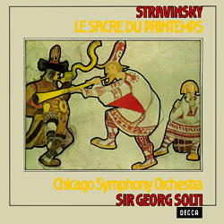 Stravinsky - Le Sacre Du Printemps - Sir Geoge Solti : Chicago Symphony Orchestra - 180g LP