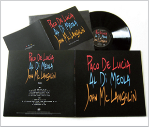 Paco Delucia , Al Dimeola & John McLaughlin - The Guitar Trio - 180g LP