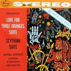 Prokofiev - Love For Three Oranges Suite : Antal Dorati : LSO - 45rpm 180g 2LP