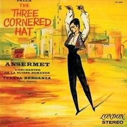 Falla - The Three Cornered Hat : Orchestre de la Suisse Romande : Ernest Ansermet - 45rpm 180g 2LP