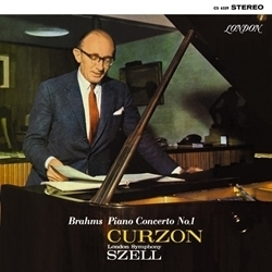 Brahms - Concerto No.1 - Sir Clifford Curzon:London Symphony Orchestra:George Szell - 45rpm 180g 2LP