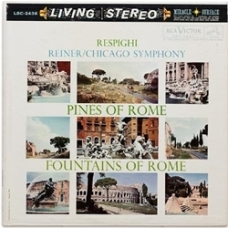 Respighi - Fritz Reiner - Pines Of Rome & Fountains - SACD