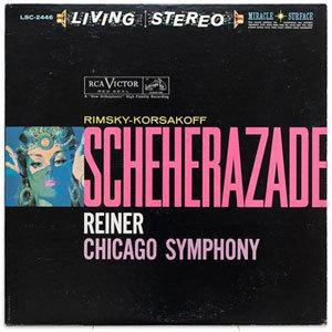 Rimsky Korsakov - Scheherazade : Fritz Reiner : Chicago Symphony - SACD