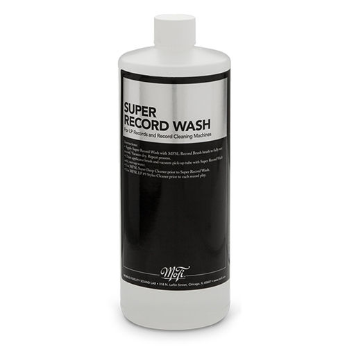 Mobile Fidelity Super Record Wash 32oz (947ml ) Record Cleaning Fluid