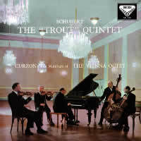 Schubert - the `Trout ` Quintet , Vienna Octet : Clifford Curzon - 180g LP