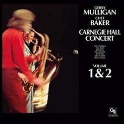 Gerry Mulligan and Chet Baker - Carnegie Hall Concert Volumes 1 & 2 - 180g 2LP