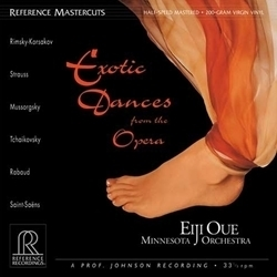 Exotic Dances from the Opera - Eiji Oue - Minnesota Orchestra - 200g LP