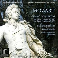 Mozart - Piano Concertos Nos. 21 & 24 : Gerard Schwarz : Seattle Symphony Orchestra - 45rpm 200g 2LP