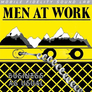 Men At Work - Business As Usual - LP