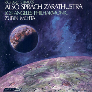 Strauss - Also Sprach Zarathustra  by Zubin Mehta . Los Angeles Philharmonic Orch - 45rpm 180g 2LP