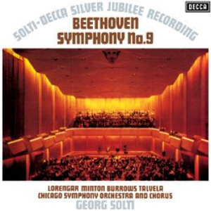 Beethoven - Symphony No. 9 : Georg Solti : Chicago Symphony Orchestra - 180g 2LP