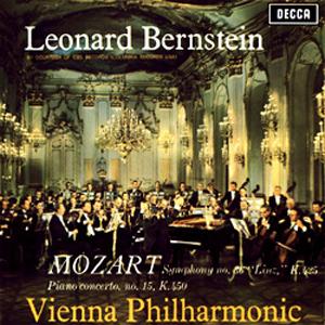 Mozart: Bernstein / Piano Concerto No. 15/ Symphony No. 36 ('Linz') - 180g LP