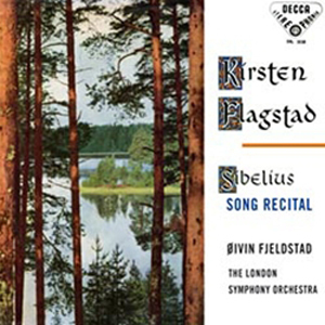 Sibelius - Song Recital : Kirsten Flagstad : Oivin Fjeldstad : London Symphony Orchestra - 180g LP