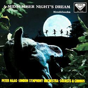 Mendelssohn - A Midsummer Night's Dream : Peter Maag - London Symphony Orchestra - 180g LP