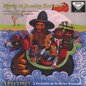 Rimsky-Korsakov - Christmas Eve (Suite) : Ernest Ansermet :Orchestre de la Suisse Romande - 180g LP
