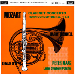 Mozart - Clarinet Concerto : London Symphony Orchestra : Peter Maag -180g LP