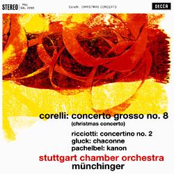 Corelli: Concerto grosso No. 8 / Ricciotti: Gluck: Chaconne - Münchinger - 180g LP
