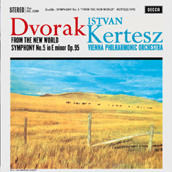 Dvorak - Symphony No. 5 From the New World - Vienna Philharmonic Orchestra/Istvan Kertész - 180g LP