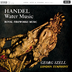Handel: Water Music, Fireworks Music - London Symphony Orchestra . George Szell - 180g LP