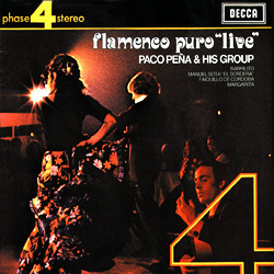 Paco Peña and his Group: Flamenco Puro Live - 180g LP
