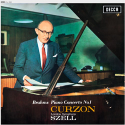 Brahms -  Concerto No. 1 - Sir Clifford Curzon : London Symphony Orchestra : George Szell - 180g LP