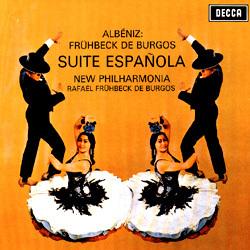 Albeniz - Suite Espanola : New Philharmonia Orchestra : Rafael Frühbeck de Burgos - 180g LP