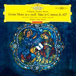 Mozart - Mass in C minor (K 427) : Berlin Radio Symphony Orchestra : Ferenc Fricsay - 180g LP