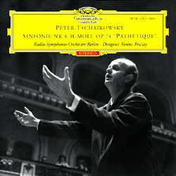 """Tchaikovsky - Symphony No. 6 (""""Pathétique"""") : Ferenc Fricsay : Symphony Orchestra Berlin - 180g LP"""