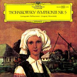 Tchaikovsky - Symphony No. 5 : Leningrad Philharmonic Orchestra : Jewgenij Mrawinskij - 180g LP