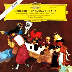 Carmina Burana - Carl Orff : Deutsche Oper Berlin : Eugen Jochum - 180g LP