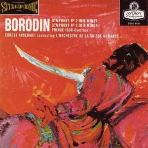 Borodin - Symphonies 2 & 3 by Ernest Ansermet & L'Orchestre de la Suisse Romande - 180g LP