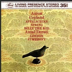 Copland - Appalachian Spring : Billy the Kid : Antal Dorati  : London Symphony Orchestra - 180g LP