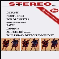 Debussy: Nocturnes / Ravel: Daphnis et Chloé: Suite No. 2 : Paul Paray - 180g LP