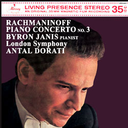 Rachmaninov - Piano Concerto No. 3 : London Symphony Orchestra conducted by Antal Dorati - 180g LP