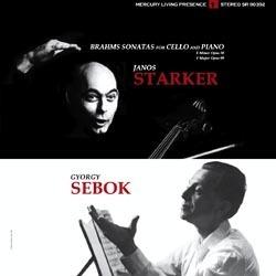 Brahms - Sonatas for Cello and Piano Nos. 1 & 2 : Janos Starker & György Sebök - 180g LP
