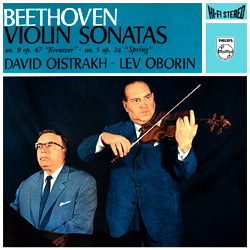 Beethoven - Sonatas for Piano and Violin Nos. 5 & 9 : Lev Oborin & David Oistrakh - 180g LP