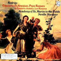 Rodrigo - Concierto de Aranjuez, Concierto Andaluz : Sir Neville Marriner : - 180g LP