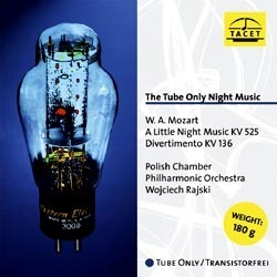 Mozart - The Tube Only Music Night - Mozart A Little Night Music , Divertimento - 180g LP