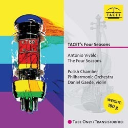 Vivaldi - The Four Seasons - Daniel Gaede : The Polish Chamber Philharmonic Orchestra - 180g LP